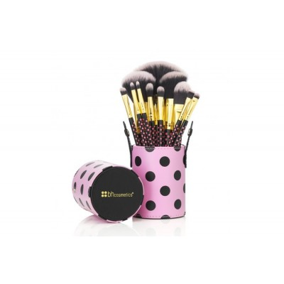 BH 11PC Pink-A-Dot Brush Set