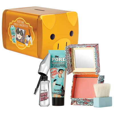 Benefit Cosmetics Fortune, Fun & Favorites Mini Set (Gold Piggy)