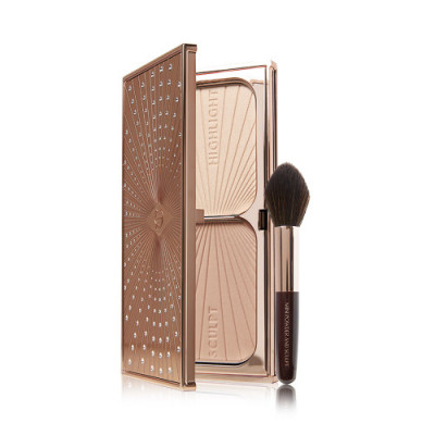 Charlotte Tilbury Holiday 2020 Limited Edition Filmstar Bronze & Glow Set (Include Brush)