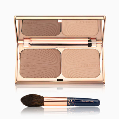 Charlotte Tilbury Limited Edition Filmstar Bronze & Glow Set (Include Brush)