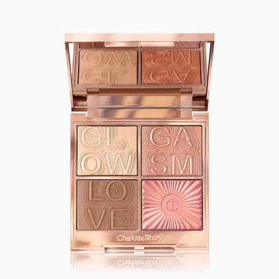 Charlotte Tilbury Glowgasm Face Palette Lightgasm (Light-Medium)