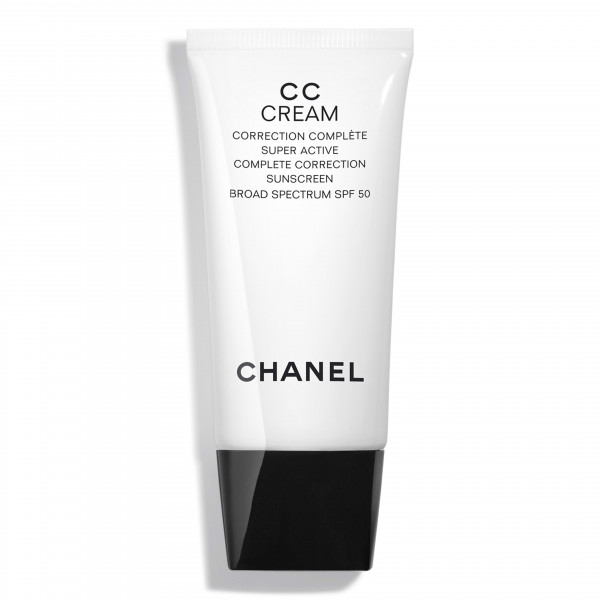 Chanel CC Cream Super Active Complete Correction Sunscreen Broad Spectrum SPF 50