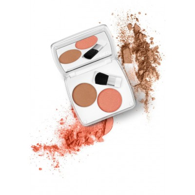 EM Shade Play Artistic Cheek Color Palette - Coral Temptation