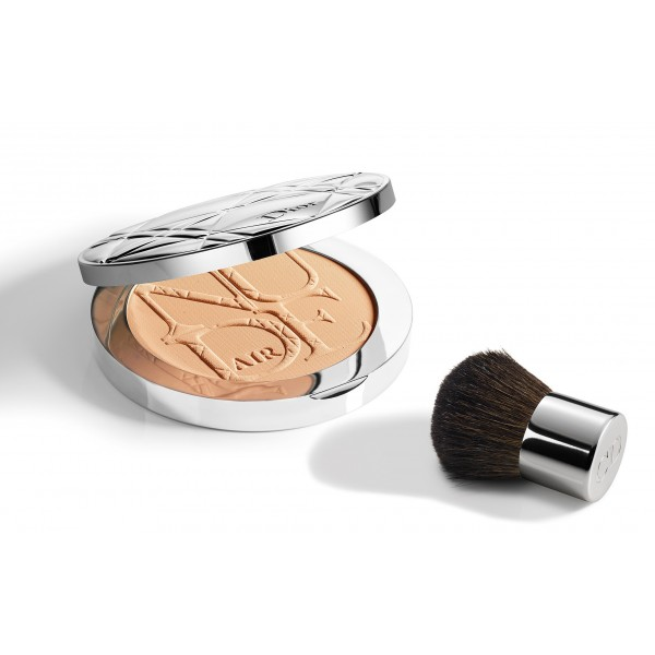 Dior - Diorskin Nude Air Powder 030 Medium Beige (With Kabuki)