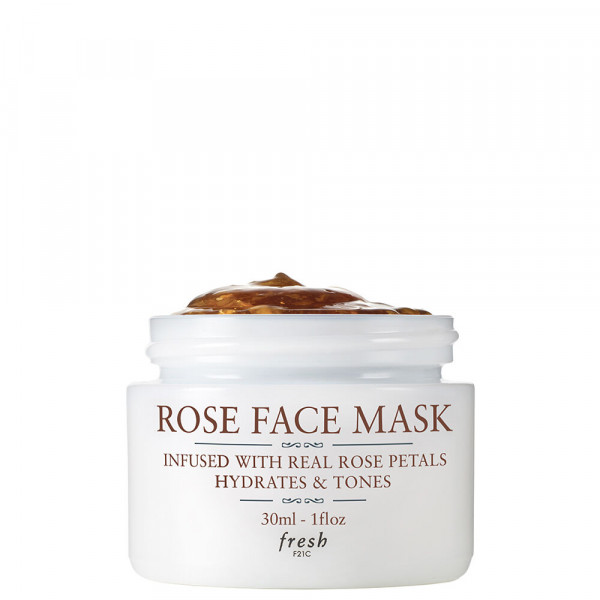 Fresh Rose Face Mask Travel Size 30ml