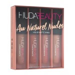 Huda Beauty Liquid Matte Minis - Au Naturel Nudes Edt