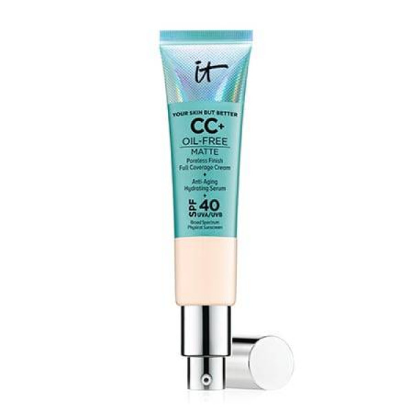 IT Cosmetics Your Skin But Better CC+ Cream Oil Free Matte With SPF 40 (Fair Light)