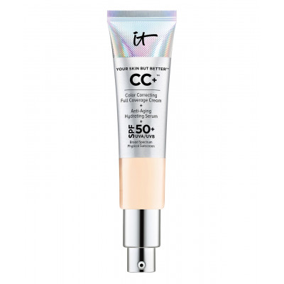 IT Cosmetics Your Skin But Better CC+ Cream Oil-Free Matte with SPF 40 (Fair Light)