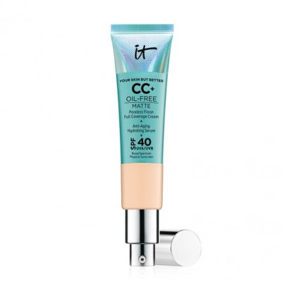 IT Cosmetics Your Skin But Better CC+ Cream Oil-Free Matte with SPF 40 (Light Medium)