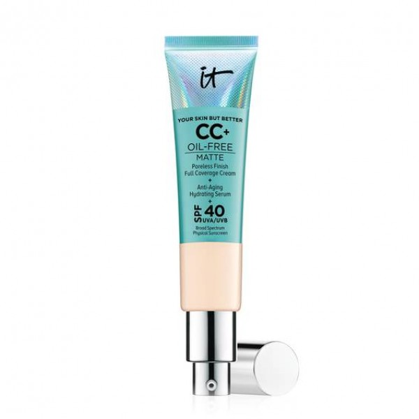 IT Cosmetics Your Skin But Better CC+ Cream Oil-Free Matte with SPF 40 (Light)
