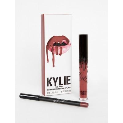 Kylie Velvet Lip Kit - Poison Berry