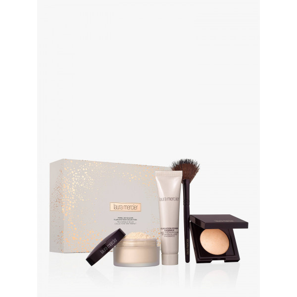 Laura Mercier Prime Set & Glow Trio Makeup Gift Set