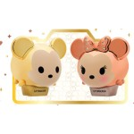 Lip Smacker Duo - Gold Mickey & Minnie Holiday 2017 Limited Edt