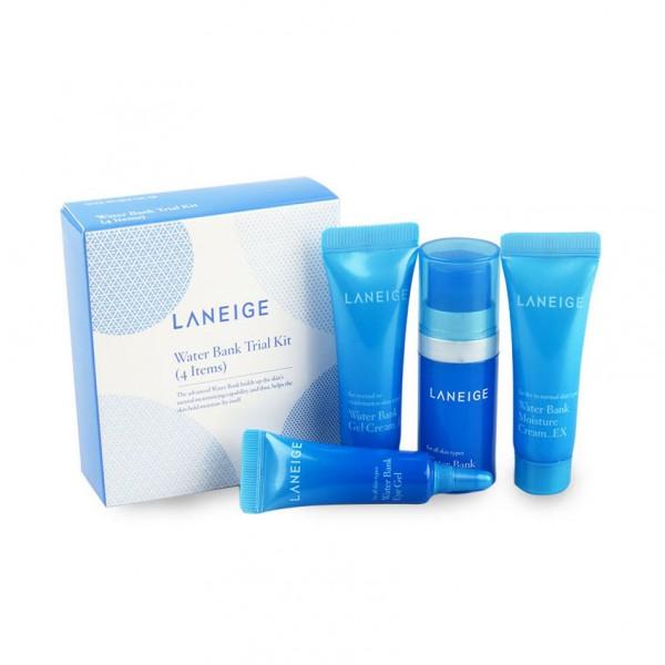 Laneige Water Bank Trial Kit ( 4 items )
