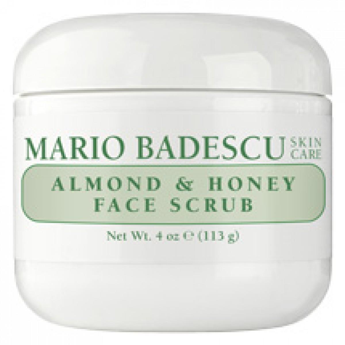 Almond amp honey face scrub