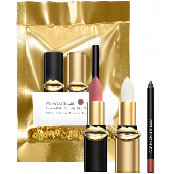Pat Mcgrath Femmebot Fetish Lip Trio Set