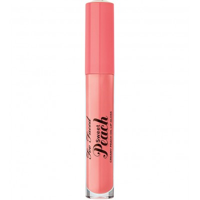 Too Faced Sweet Peach Lip Gloss-Pure Peach