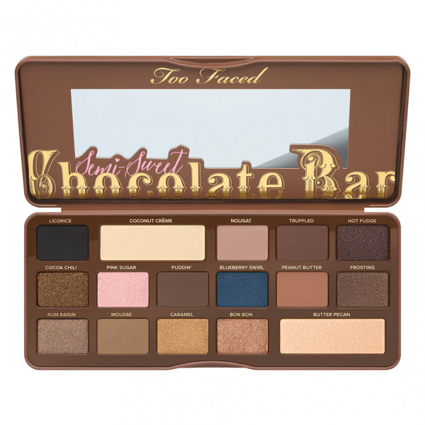 Too Faced Semi Sweet Chocolate Bar Palette (No Box)