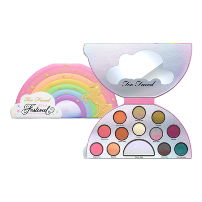 Too Faced Unicorn Life's a Festival Eye Shadow Palette