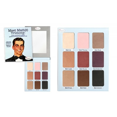 Meet Matt(e) Trimony -Matte Eyeshadow Palette