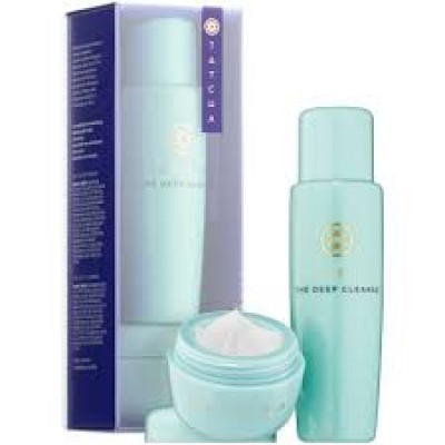 Tatcha Pore-Perfecting Moisturizer & Cleanser Duo Travel Set