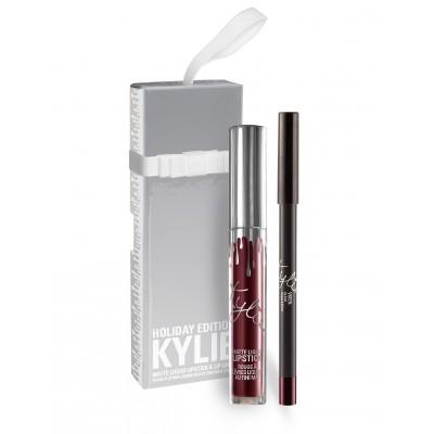 Kylie Holiday Edition Lip Kit - Vixen