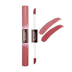 Girlacktik Long Lasting Matte Lip Paint Liquid Lipstick Duo