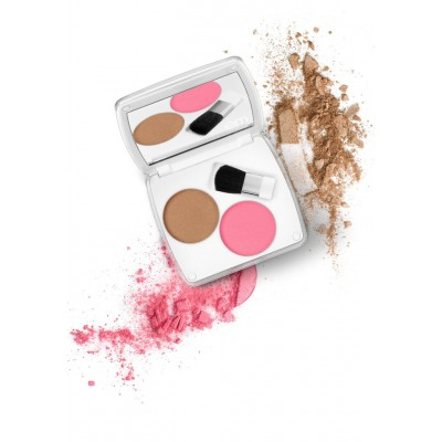 EM Shade Play Artistic Cheek Color Palette - Blush A Bye Pink