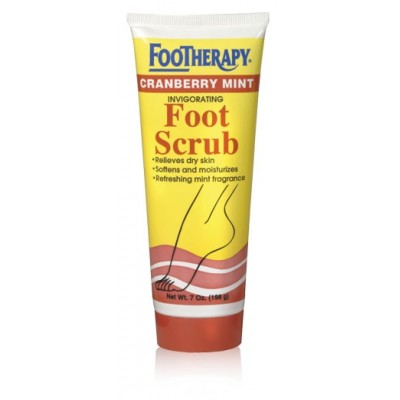Footheraphy Cranberry Mint Foot Scrub 7oZ