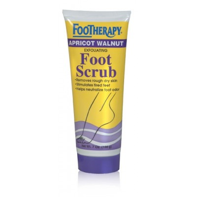Footheraphy Apricot Walnut Foot Scrub 7oZ