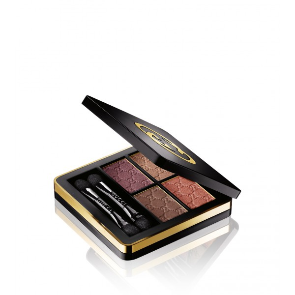 Gucci Eye Magnetic Color Shadow Quad - 040 Autumn Fire