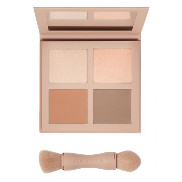 KKW Powder Contour & Highlight Kit - LIGHT