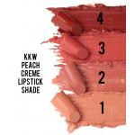 KKW Peach Creme Lipstick