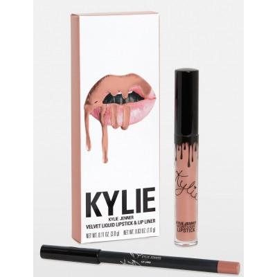 Kylie Velvet Lip Kit - Bare