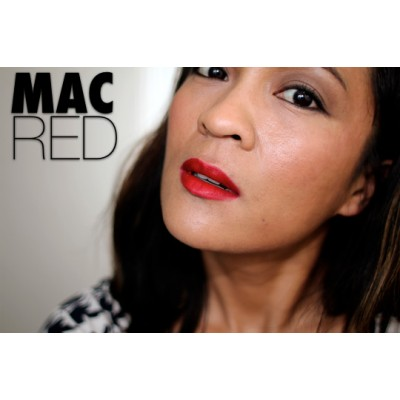 MAC Lipstick -MAC Red- (Sample Size)