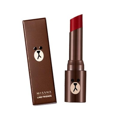 Matte Lip Rouge MRD 04 ( Ruby Stone ) - Line Friends Edition - SPF 17