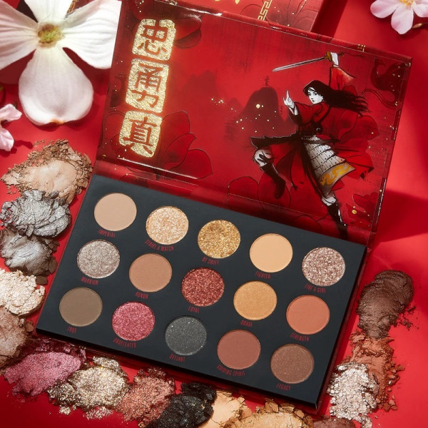 Colourpop Mulan Eyeshadow Pallete