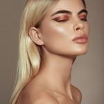 KKW Peach Creme Lipstick: Peach 2