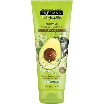 FREEMAN Purifying Avocado & Oatmeal Clay Mask 6 fl oz