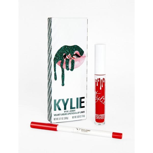Kylie Red Velvet   VELVET LIP KIT