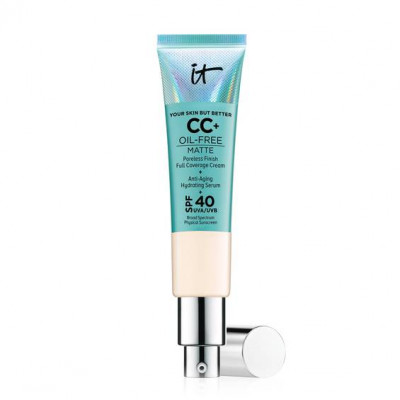 IT Cosmetics Your Skin But Better CC+ Cream Oil-Free Matte with SPF 40 (Fair)