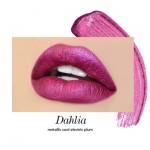Long-Wear Liquid Lipstick - Dahlia (a metallic cool electric plum)