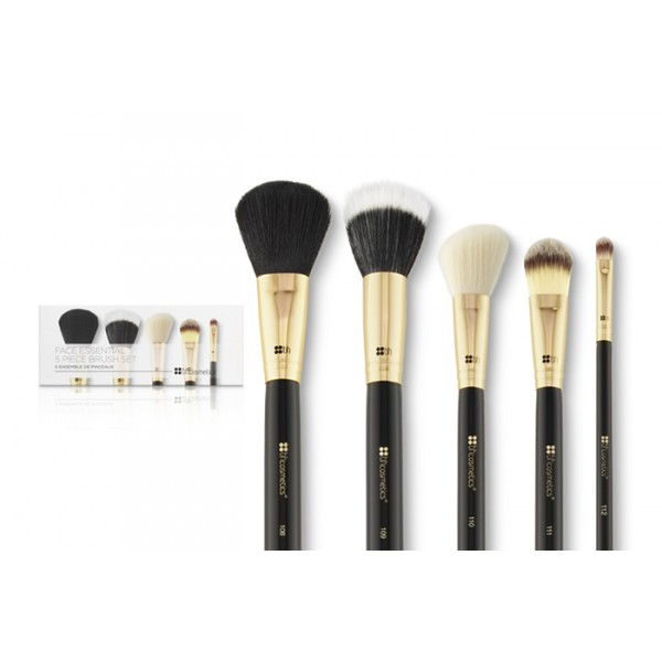 BH Cosmetics Face Essential 5 Piece Brush Set