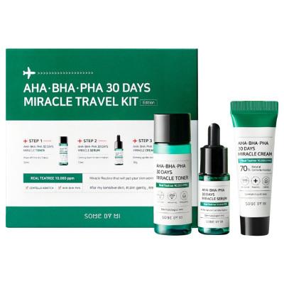 Some By Mi AHA BHA PHA 30 Days Miracle Travel Kit ( 3 Items )
